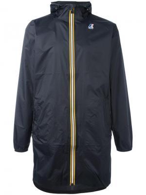 Куртка на молнии K-Way X Les (Art)Ists. Цвет: чёрный