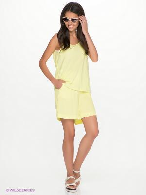 Шорты Vero moda. Цвет: желтый