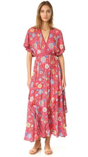 Вечернее платье Lovebird Half Moon SPELL. Цвет: розовый
