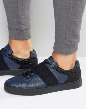Glorious Gangsta Классические низкие кроссовки. Цвет: темно-синий