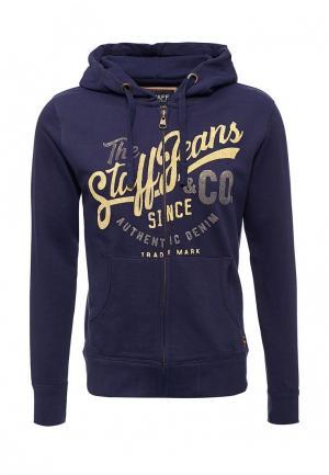 Толстовка Staff Jeans & Co.. Цвет: синий