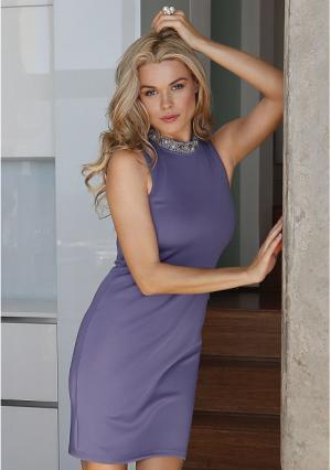 Платье MY STYLE. Цвет: светло-лиловый