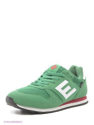 Кроссовки EDITEX. Цвет: зеленый