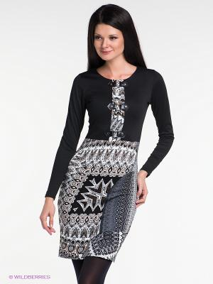 Платье Наталья Новикова. Цвет: черный, серый, коричневый, темно-серый, белый
