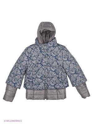 Куртка двойная MARIELA. Цвет: серый