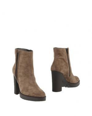 Полусапоги и высокие ботинки CARMENS. Цвет: свинцово-серый