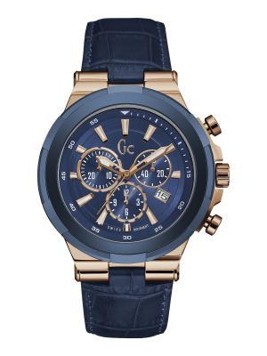 Часы GC. Цвет: синий,красный,золотистый