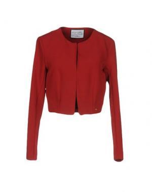Пиджак FLY GIRL. Цвет: красно-коричневый