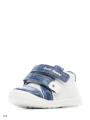 Ботинки San Marko. Цвет: белый, синий
