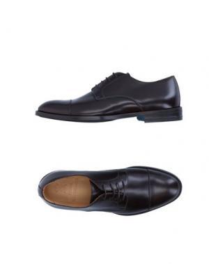 Обувь на шнурках SUTOR MANTELLASSI. Цвет: темно-коричневый