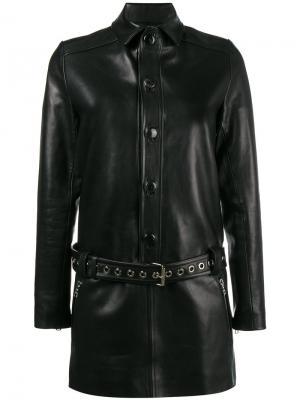 Платье мини с поясом Beau Souci. Цвет: чёрный