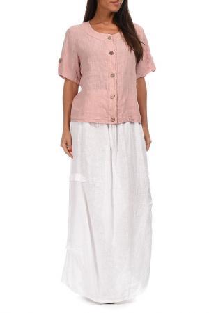 Рубашка Couleur lin. Цвет: розовый