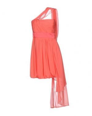 Короткое платье MANOUKIAN. Цвет: оранжевый