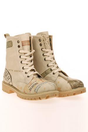 Ботинки Elite Goby. Цвет: коричневый