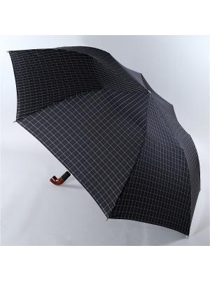 Зонт Trust. Цвет: черный, светло-серый, серо-голубой