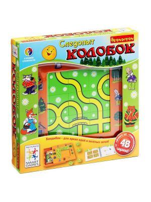 Логическая игра Bondibon Следопыт, Колобок арт. SG RU 001. Цвет: салатовый