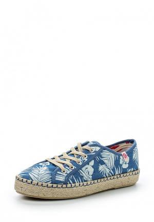 Ботинки Kylie. Цвет: синий