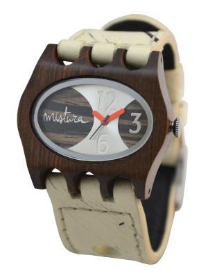 Часы Mistura KAMERA Hollister/Pui/Ebony. Цвет: белый