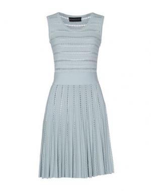Короткое платье ANTONINO VALENTI. Цвет: небесно-голубой