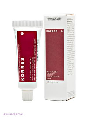 Маска, улучшающая цвет лица Korres. Цвет: прозрачный
