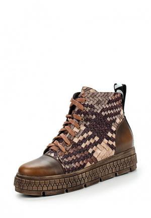 Ботинки Item Black. Цвет: разноцветный