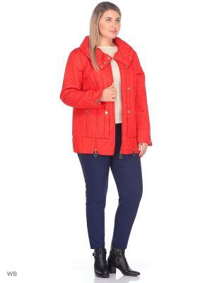 Куртка VIKO. Цвет: красный