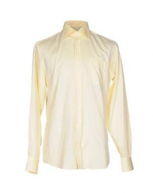 Pубашка VAN LAACK. Цвет: желтый