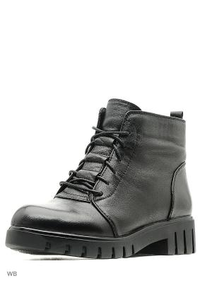 Ботинки MakFine. Цвет: черный