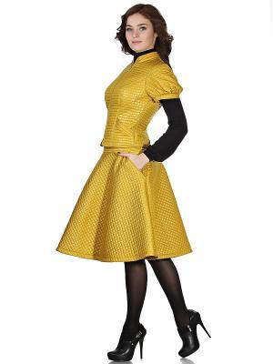Жакет OLIVEGREY. Цвет: желтый