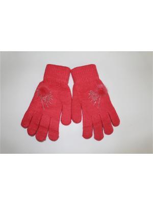 Перчатки Cascatto. Цвет: коралловый