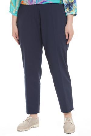 Прямые брюки Clips. Цвет: темно-синий