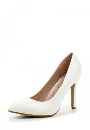 Туфли Girlhood. Цвет: белый