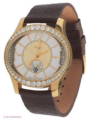 Часы MOOG. Цвет: золотистый, коричневый