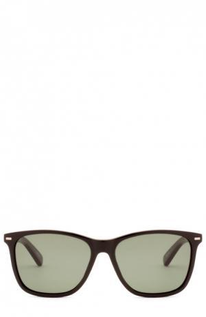 Солнцезащитные очки Ermenegildo Zegna. Цвет: бесцветный
