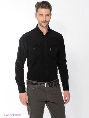 Рубашка Maestro. Цвет: черный