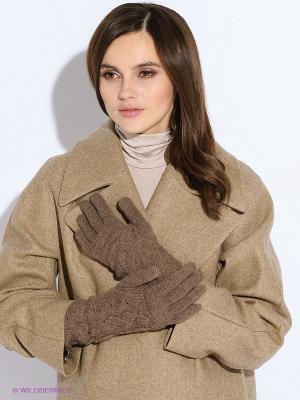 Перчатки FOMAS. Цвет: коричневый