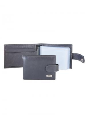 Футляр для карт с карманом Tirelli. Цвет: серый