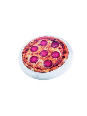 Фрисби Flying Pizza Donkey. Цвет: красный, оранжевый, белый