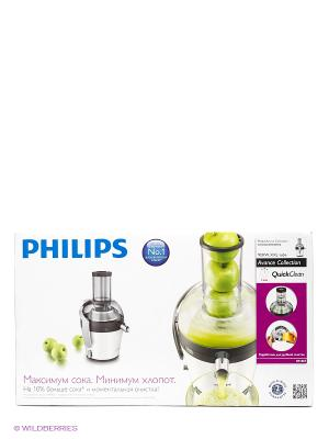 Соковыжималка Philips HR1869/80. Цвет: белый, серебристый
