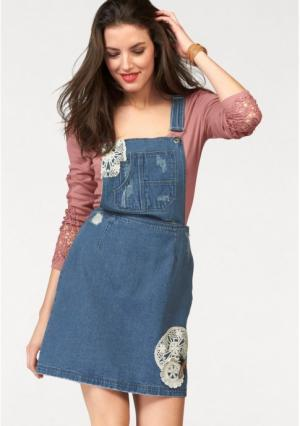 Платье Aniston. Цвет: синий