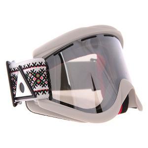 Маска для сноуборда  Kaleidoscope Jake Kuzyk Ashbury. Цвет: серый