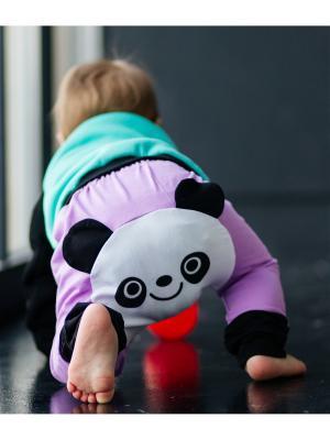 Штанишки для подгузников Панда фиолет Yuumi. Цвет: фиолетовый