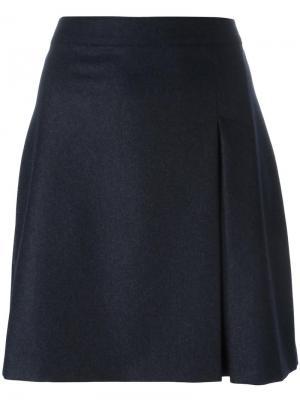 Прямая юбка A.P.C.. Цвет: серый