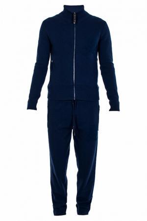 Спортивный костюм Philipp Plein. Цвет: темно-синий