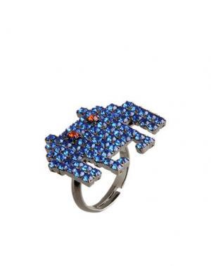 Кольцо LISA C BIJOUX. Цвет: ярко-синий