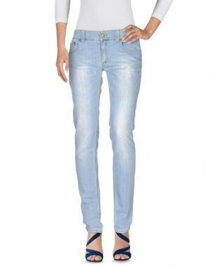 Джинсовые брюки DONDUP. Цвет: синий
