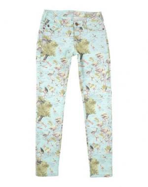 Джинсовые брюки SCOTCH R'BELLE. Цвет: светло-зеленый