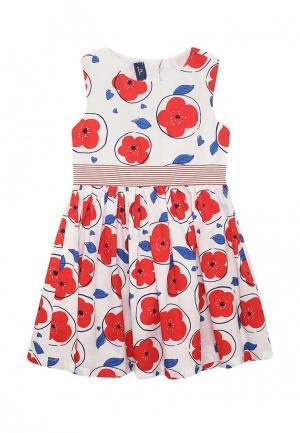 Платье Chicco. Цвет: белый