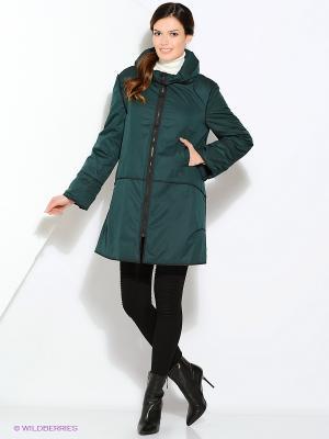 Куртка Gamelia. Цвет: зеленый