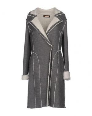 Пальто ROSSO35. Цвет: серый